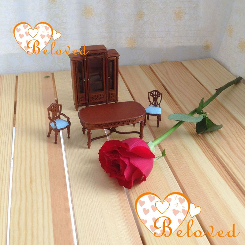 124 Scale Dollhouse Miniature Furniture Wooden Dinning Room Set